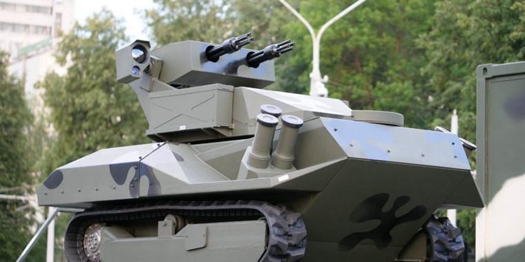 """白俄罗斯首次披露""""半人马座""""战斗机器人"""