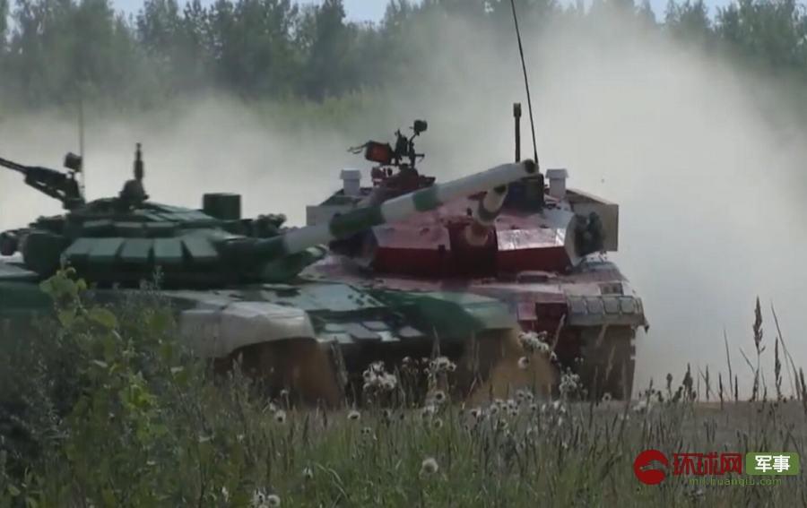 中国队晋级坦克两项半决赛 单车赛比俄差6分钟