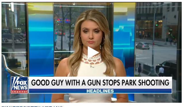 美国佛州一枪手在公园开枪 被持枪路人击毙