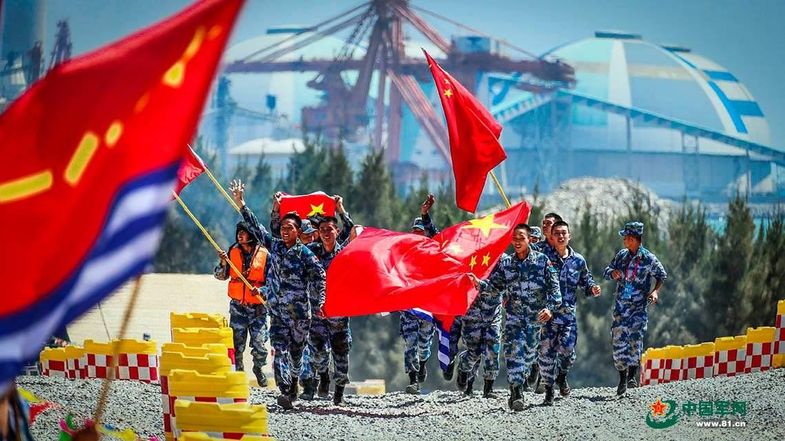 中国队晋级坦克两项接力赛 首场小组赛就夺冠