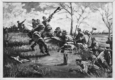 八路军、新四军歼灭伪军的战斗