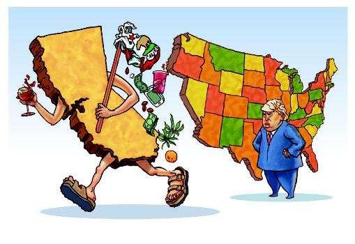 拆分加州,美国人争了160多年!