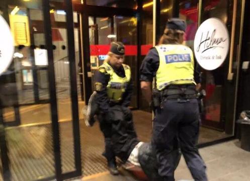 瑞典警方差劲,帮腔的中国网友更差劲