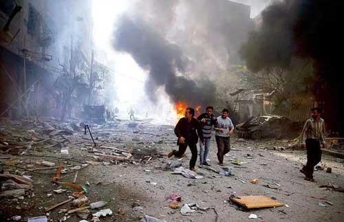 """叙利亚,决战即将打响!美国果然又打出""""化武""""牌"""