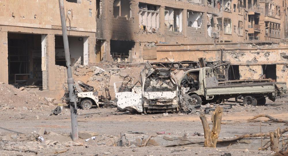国际联军对叙利亚空袭导致一家14口人丧生