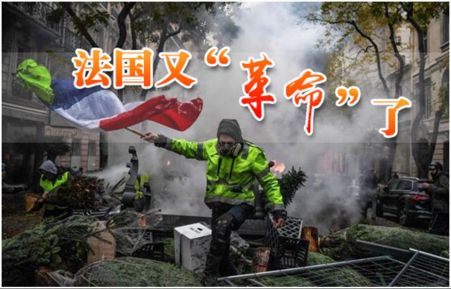 """第五十期:法国又""""革命""""了"""