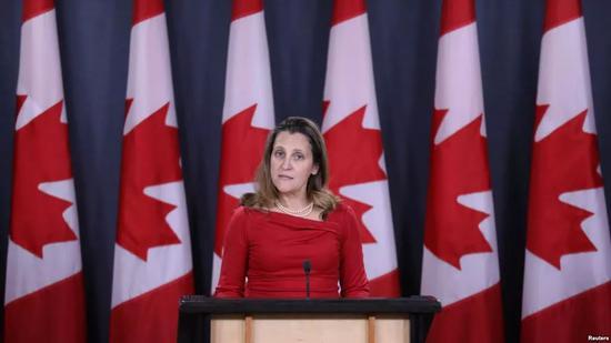 """孟晚舟案 加拿大方面有了""""最新""""说法"""