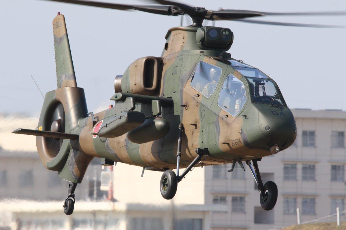 停飞4年日本自研OH-1武装直升机机型复飞