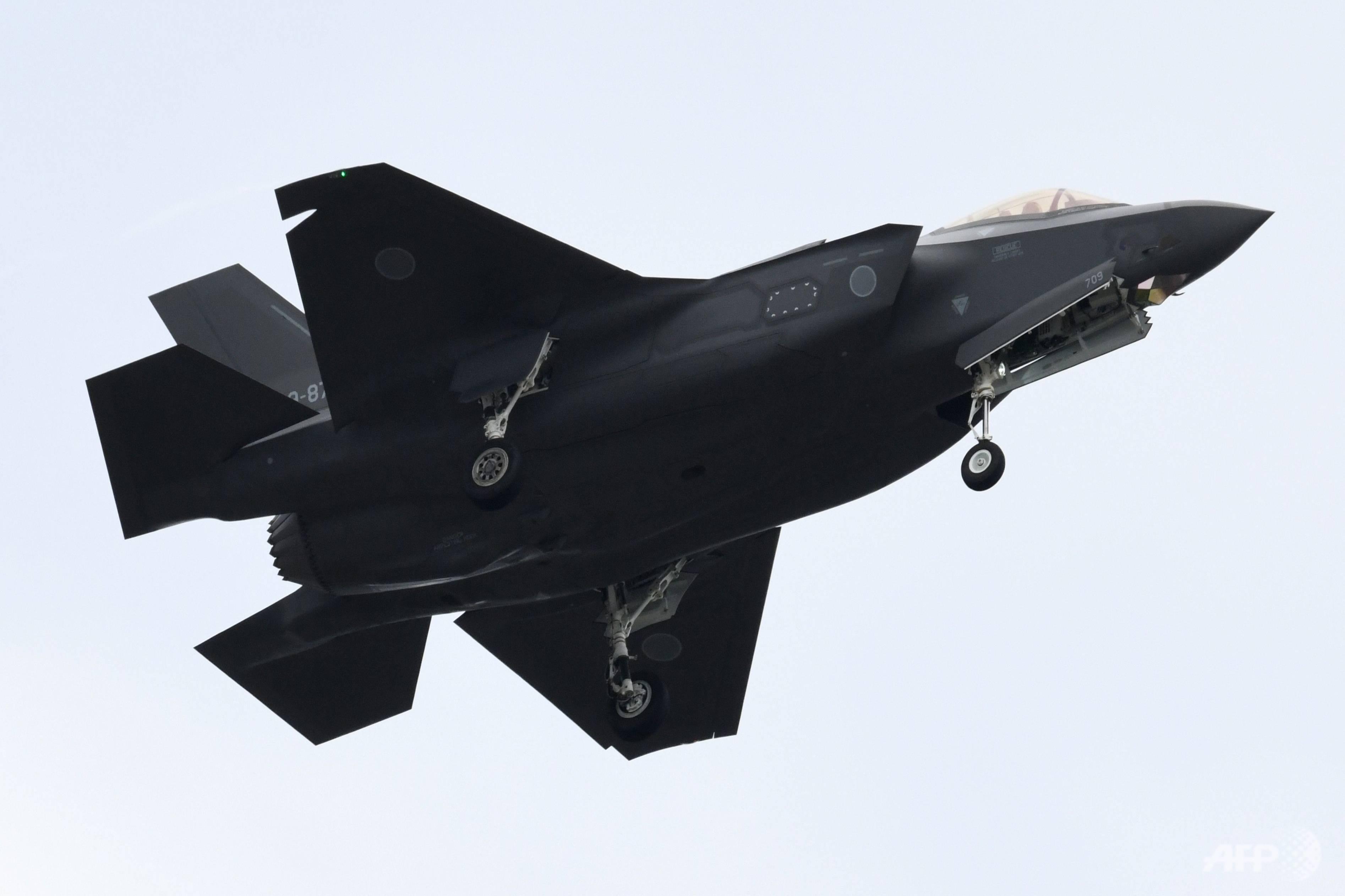 日本F-35沉入1500米海底 打捞调查或要花费数年