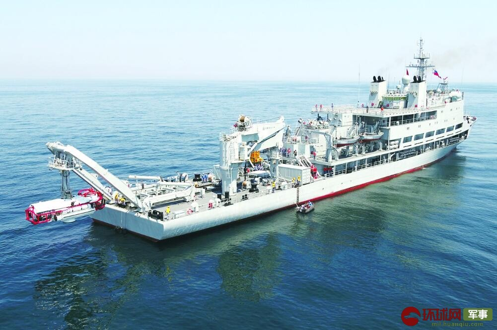 中国海军深潜救生艇内部啥样?带你一探究竟