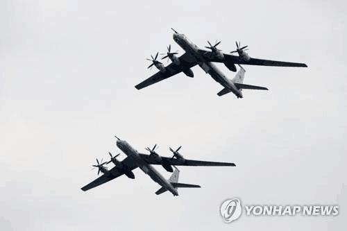 """俄军机进入韩""""防空识别区"""" 韩出动战机应对"""