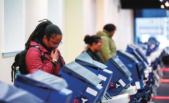 大选将至,美国人发现投票机不靠谱