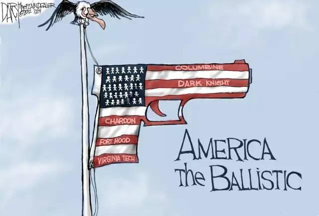 """枪击案搅乱美国,""""白人至上主义""""再现"""