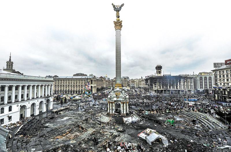 乌克兰颜色革命 美梦成噩梦 拥抱西方遭弃沦全欧最穷国