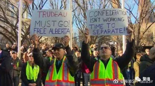 加拿大独立运动爆发,数十万人要求西部独立,美国媒体沉默了!