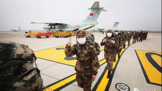 习近平批准军队承担火神山医院救治任务