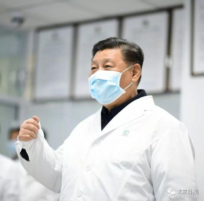 习近平在北京调研指导疫情防控,掷地有声!