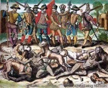 美国官民共同灭绝北美印第安人