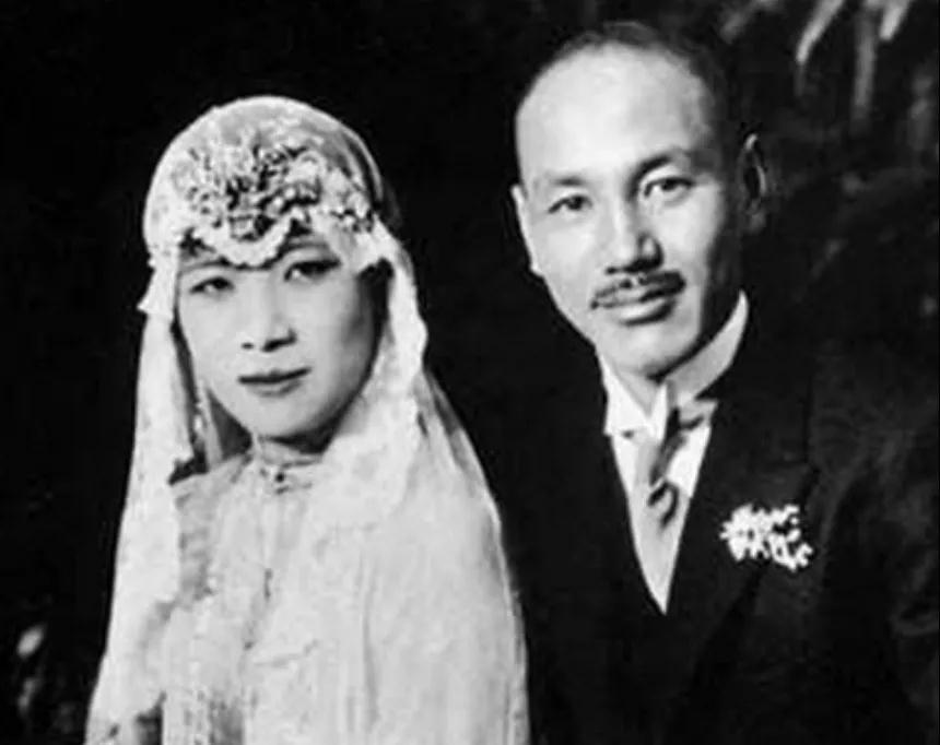"""蒋介石和宋美龄的""""爱情""""?"""
