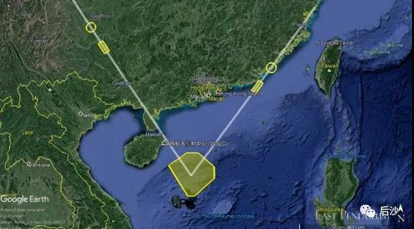 """解放军向南海发射""""东风""""!跟特殊的人得用特殊的语言"""
