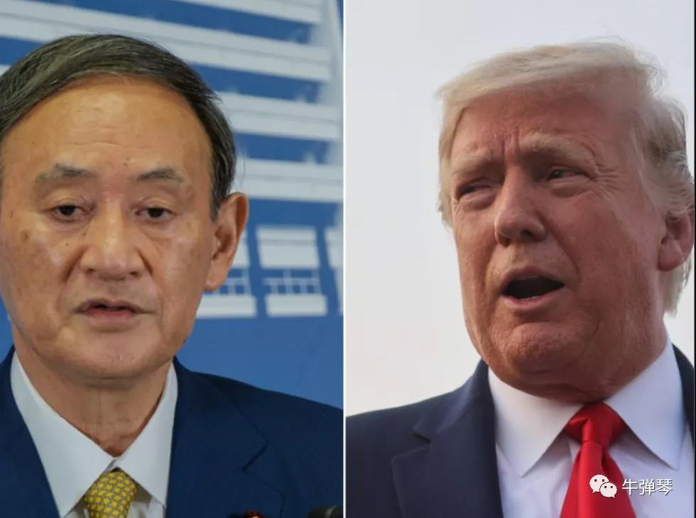 特朗普和菅义伟的第一通电话,这三个细节信息量很大!