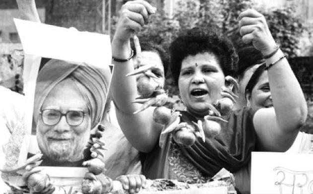 """印度又""""炸""""了!宣称没有一颗洋葱可以脱离印度"""