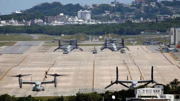 ▲资料图片:位于冲绳的驻日美军普天间基地。(美国防部官网)
