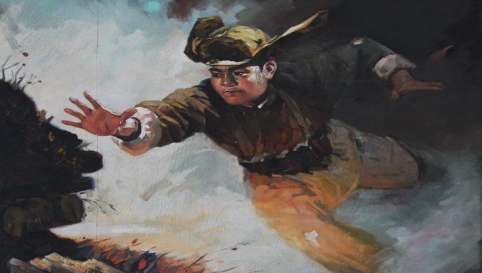 美军惊讶!是什么惊人力量让一个年轻战士用身体去堵枪口?