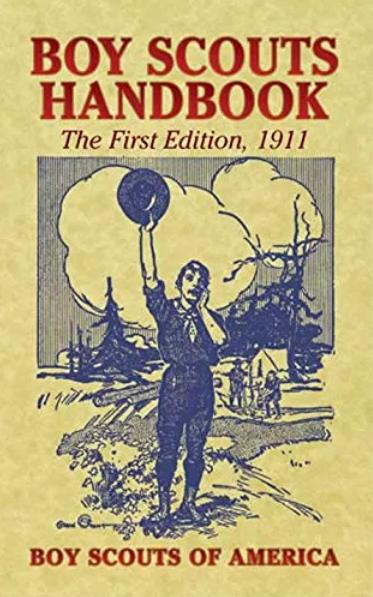 1911年版美国《童子军手册》封面