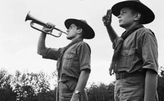 早期的童子军形象