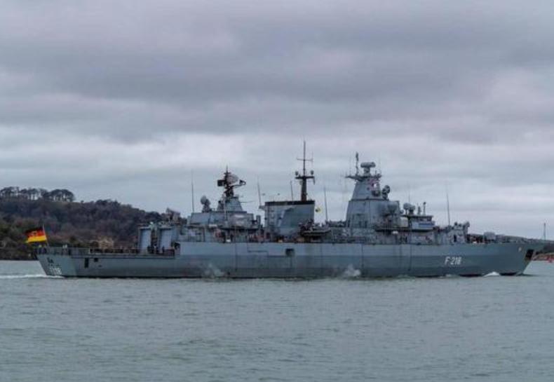 德国派军舰来亚洲?
