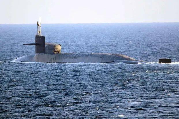 美核潜艇部署波斯湾,剑指伊朗?