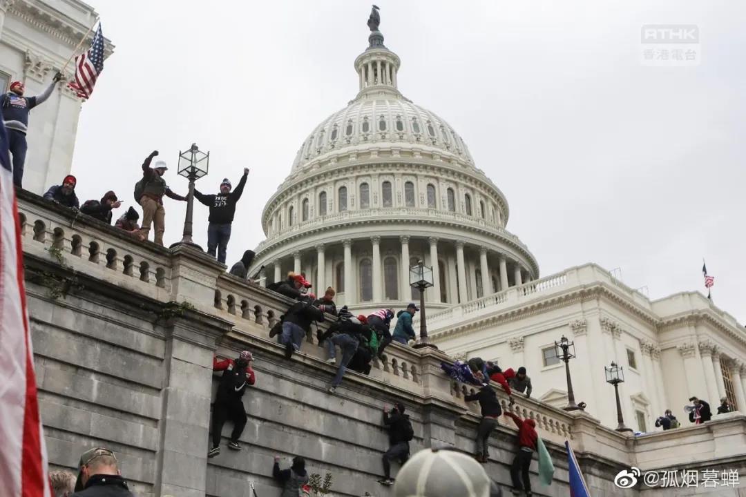 美国之春刚开始就结束了 因为华盛顿没有美国大使馆