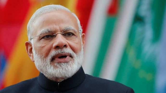 """印度对华打出""""组合拳""""后 网友担心起莫迪……"""