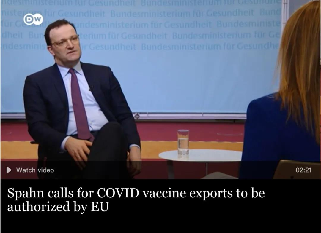 """扛不住了,德媒:德国开始向中俄疫苗""""示好"""""""