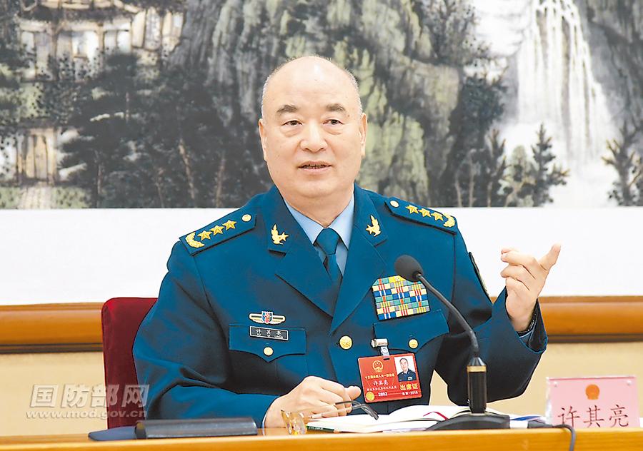军委副主席许其亮:修改香港选举制度意义重大,军队坚决拥护