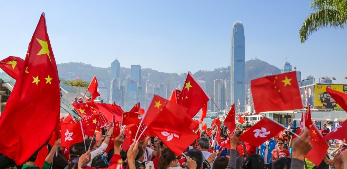 """""""爱国者治港"""",香港才有美好未来"""