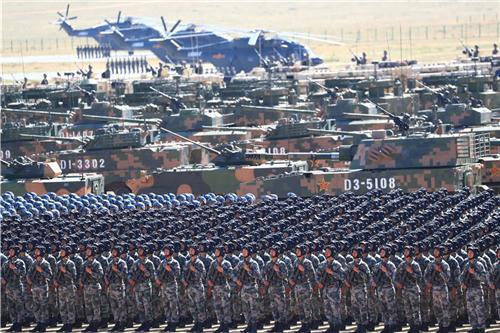 """奋力推进国防和军队现代化建设(""""十三五"""",我们这样走过)"""