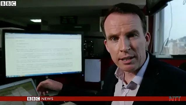 整天抹黑中国的BBC记者沙磊跑了!