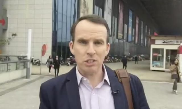 """BBC称其记者因""""揭露真相""""才离开大陆转移到台湾 华春莹做7点回应"""