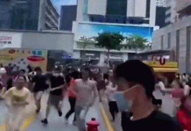 视频惊心!深圳一70层高大厦出现晃动