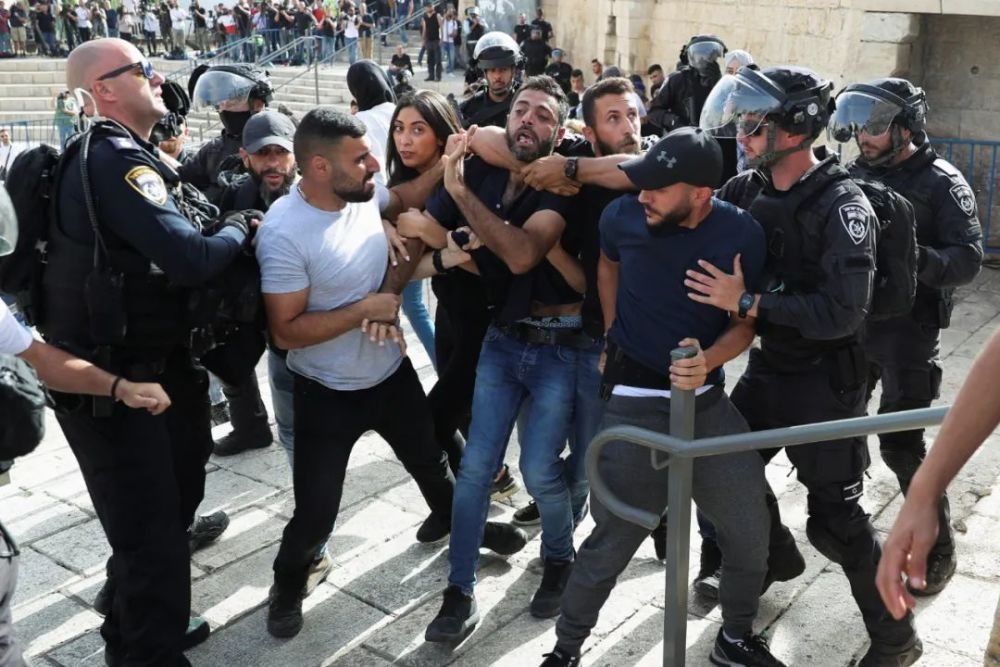 """巴勒斯坦和以色列又""""打起来了"""""""