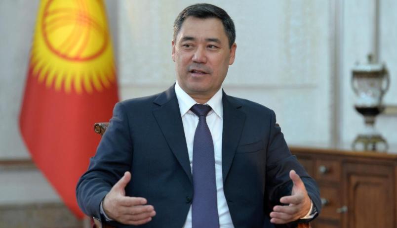 """""""我要给中国共产党的伟大成就打最高分""""——访吉尔吉斯斯坦总统扎帕罗夫"""