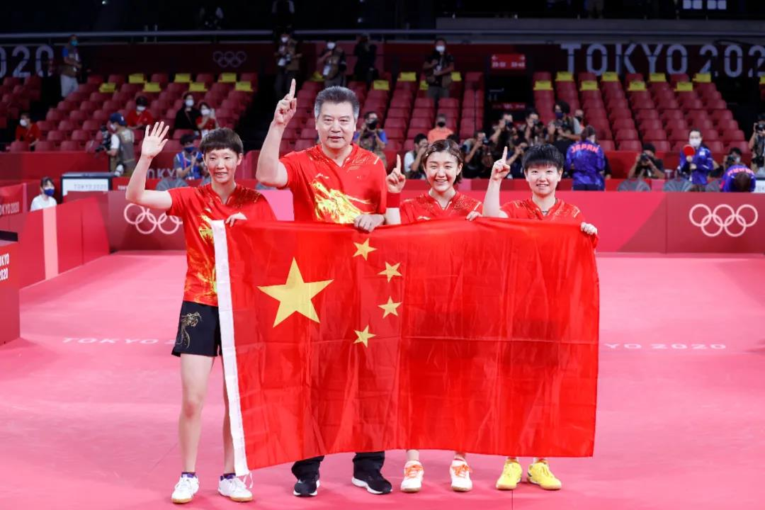 日本记者问中国队为什么这么强?陈梦答了两个字!