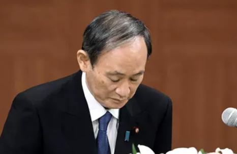 日本首相菅义伟道歉,因为……