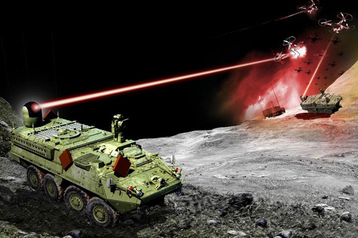 """美国陆军首款激光战车完成""""战斗射击""""测试 """"为下一场大战做好了准备"""""""