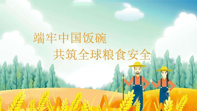 端牢中国饭碗  共筑全球粮安