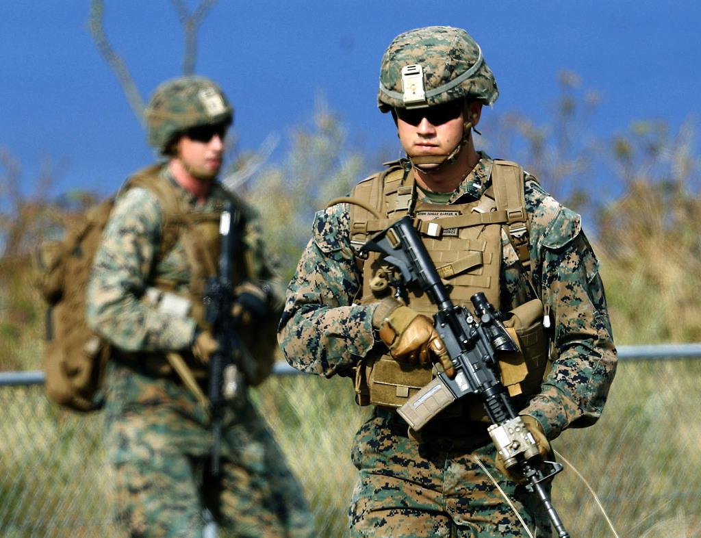 """美前海军陆战队成员枪杀4人 在伊拉克服役期间曾当选为""""神枪手"""""""